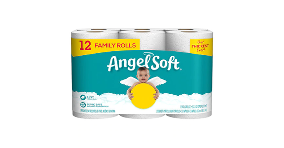 Angel Soft Bath Tissue 12 Family Rolls (12 ct) from EatStreet Convenience - Branch St in Middleton, WI