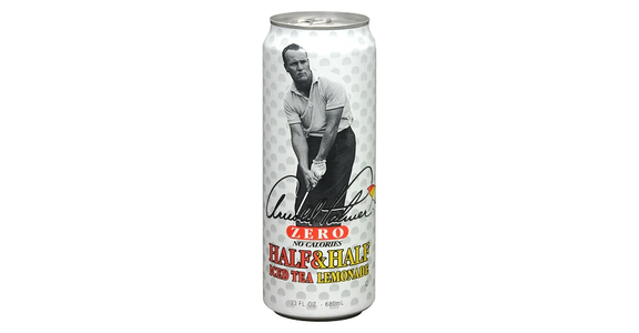 Arizona Zero Arnold Palmer Half & Half Iced Tea & Lemonade (23 oz) from EatStreet Convenience - Branch St in Middleton, WI