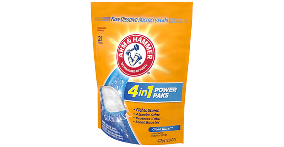 Arm & Hammer Ultra Power Pak Detergent Fresh (21 ct) from EatStreet Convenience - Branch St in Middleton, WI