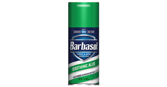 Barbasol Thick & Rich Soothing Aloe Shaving Cream (7 oz) from EatStreet Convenience - Branch St in Middleton, WI