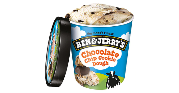 Ben & Jerry's Ice Cream Chocolate Chip Cookie Dough (16 oz) from EatStreet Convenience - N Port Washington Rd in Glendale, WI
