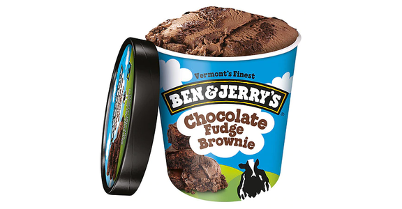 Ben & Jerry's Ice Cream Chocolate Fudge Brownie (16 oz) from EatStreet Convenience - N Port Washington Rd in Glendale, WI