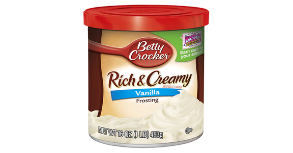 Betty Crocker Creamy Deluxe Frosting Vanilla (16 oz) from EatStreet Convenience - N Port Washington Rd in Glendale, WI