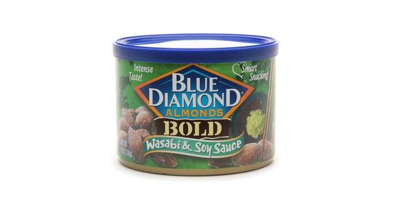 Blue Diamond Bold Almonds Wasabi & Soy Sauce (6 oz) from EatStreet Convenience - Anderson Ave in Manhattan, KS