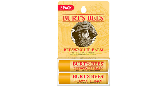 Burt's Bees 100% Natural Moisturizing Lip Balm Beeswax (2 ct) from EatStreet Convenience - N Port Washington Rd in Glendale, WI