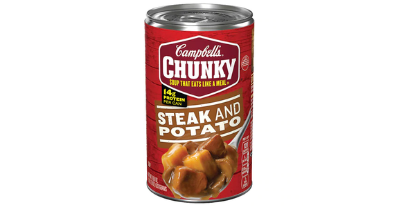Campbell's Chunky Steak & Potato Soup (18.8 oz) from EatStreet Convenience - Branch St in Middleton, WI