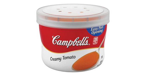 Campbell's Creamy Tomato Soup Microwavable Bowl (15.4 oz) from EatStreet Convenience - N Port Washington Rd in Glendale, WI