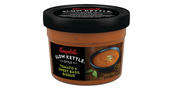 Campbell's Style Tomato & Sweet Basil Bisque (15.52 oz) from EatStreet Convenience - N Port Washington Rd in Glendale, WI