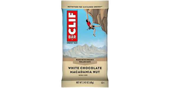 Clif Bar Energy Bar White Chocolate Macadamia Nut (2 oz) from EatStreet Convenience - N Port Washington Rd in Glendale, WI