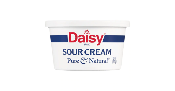 Daisy Pure & Natural Sour Cream (8 oz) from EatStreet Convenience - Branch St in Middleton, WI