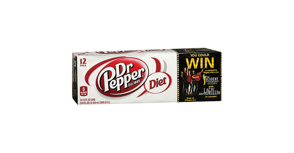 Diet Dr. Pepper Soda 12 oz (12 pack) from EatStreet Convenience - Branch St in Middleton, WI