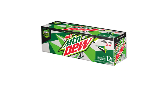 Diet Mountain Dew Soda 12 oz (12 pack) from EatStreet Convenience - Branch St in Middleton, WI