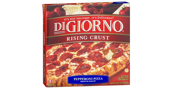 DiGiorno Rising Crust Frozen Pizza Pepperoni (28 oz) from EatStreet Convenience - N Port Washington Rd in Glendale, WI