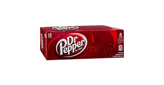 Dr. Pepper Soda 12 oz (12 pack) from EatStreet Convenience - N Port Washington Rd in Glendale, WI