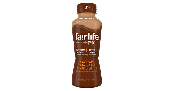 Fairlife Reduced Fat 2% Milk Single-Serve Chocolate (12 oz) from EatStreet Convenience - N Port Washington Rd in Glendale, WI
