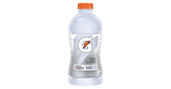 Gatorade Frost Thirst Quencher Glacier Cherry (28 oz) from EatStreet Convenience - N Port Washington Rd in Glendale, WI
