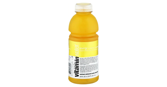 Glaceau Vitaminwater Nutrient Enhanced Beverage Bottle Tropical Citrus (20 oz) from EatStreet Convenience - N Port Washington Rd in Glendale, WI