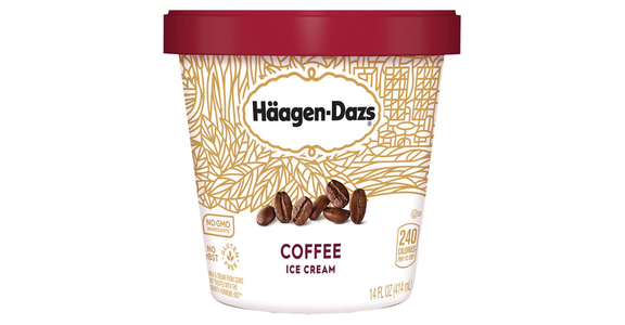 Haagen-Dazs Ice Cream Coffee (14 oz) from EatStreet Convenience - Branch St in Middleton, WI
