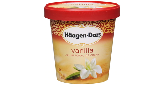 Haagen-Dazs Ice Cream Vanilla (14 oz) from EatStreet Convenience - Branch St in Middleton, WI