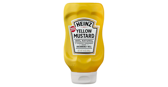 Heinz Yellow Mustard (14 oz) from EatStreet Convenience - N Port Washington Rd in Glendale, WI