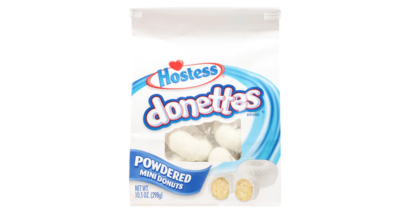 Hostess Donettes Bag Powdered Sugar (10 oz) from EatStreet Convenience - N Port Washington Rd in Glendale, WI