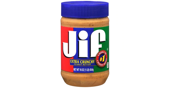 Jif Crunchy Peanut Butter Spread (16 oz) from EatStreet Convenience - Branch St in Middleton, WI