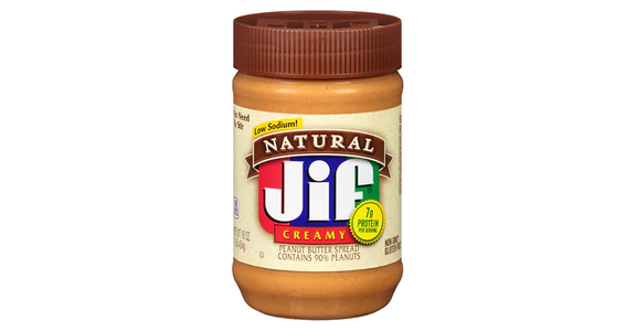 Jif Natural Creamy Peanut Butter (16 oz) from EatStreet Convenience - Branch St in Middleton, WI