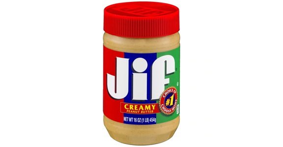 Jif Peanut Butter Creamy (16 oz) from EatStreet Convenience - Branch St in Middleton, WI