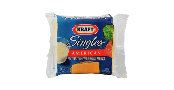 Kraft Singles Pasteurized Prepared Che (12 oz) from EatStreet Convenience - N Port Washington Rd in Glendale, WI