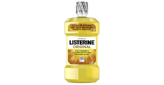 Listerine Antiseptic Oral Care Mouthwash Original (1 l) from EatStreet Convenience - N Port Washington Rd in Glendale, WI