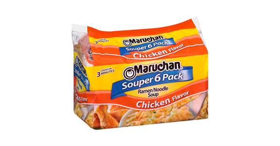 Maruchan Ramen Noodle Soup Chicken Flavor (6 ct) from EatStreet Convenience - Branch St in Middleton, WI