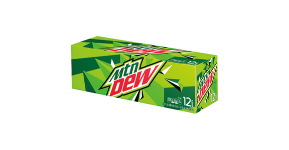 Mountain Dew Soda 12 oz (12 pack) from EatStreet Convenience - N Port Washington Rd in Glendale, WI