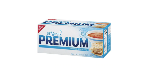 Nabisco Premium Saltine Crackers Original (16 oz) from EatStreet Convenience - N Port Washington Rd in Glendale, WI