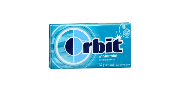 Orbit Sugarfree Gum Wintermint (14 ct) from EatStreet Convenience - N Port Washington Rd in Glendale, WI