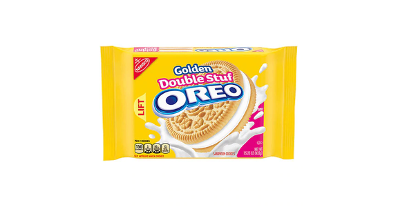 Oreo Golden Double Stuf Cookies Golden (15 oz) from EatStreet Convenience - N Port Washington Rd in Glendale, WI