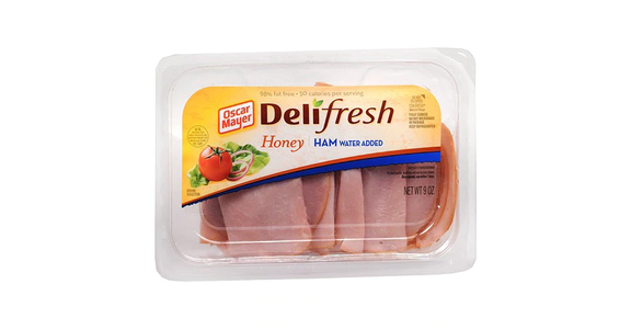 Oscar Mayer Deli Fresh Honey Ham (9 oz) from EatStreet Convenience - Branch St in Middleton, WI