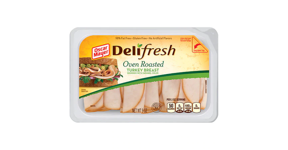 Oscar Mayer Deli Fresh Oven Roasted Turkey Breast (9 oz) from EatStreet Convenience - Branch St in Middleton, WI