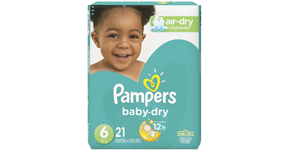 Pampers Baby-Dry Diapers Size 6 (21 ct) from EatStreet Convenience - N Port Washington Rd in Glendale, WI