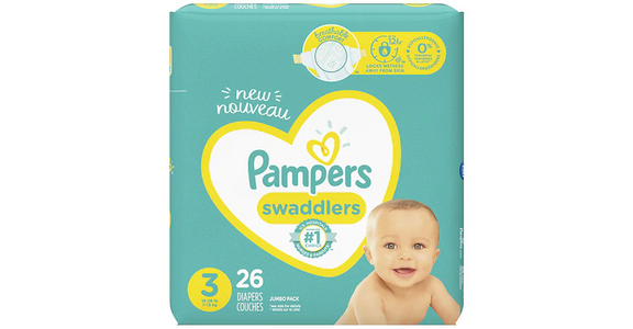 Pampers Swaddlers 3 (16-28 lbs) (26 ct) from EatStreet Convenience - N Port Washington Rd in Glendale, WI