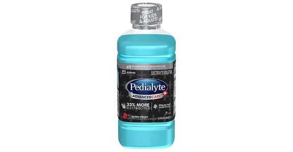 Pedialyte Electrolyte Solution Berry Frost (34 oz) from EatStreet Convenience - N Port Washington Rd in Glendale, WI