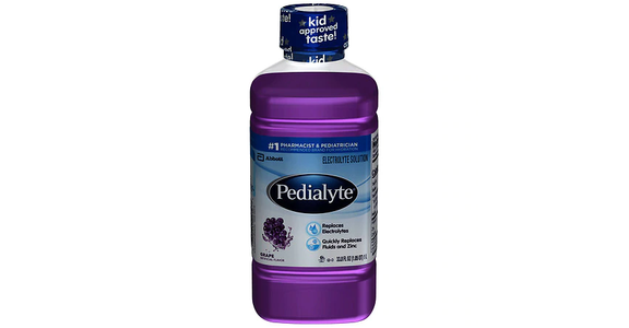 Pedialyte Electrolyte Solution Grape (34 oz) from EatStreet Convenience - N Port Washington Rd in Glendale, WI