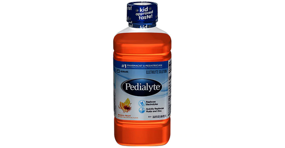 Pedialyte Electrolyte Solution Mixed Fruit (34 oz) from EatStreet Convenience - N Port Washington Rd in Glendale, WI
