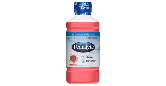 Pedialyte Oral Electrolyte Solution Strawberry (1 qt) from EatStreet Convenience - N Port Washington Rd in Glendale, WI