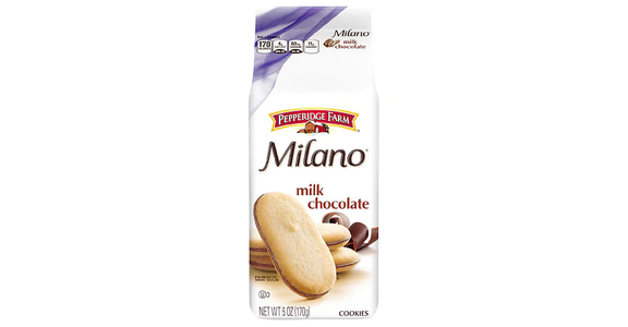 Pepperidge Farm Milano Milk Chocolate Cookie (6 oz) from EatStreet Convenience - Branch St in Middleton, WI