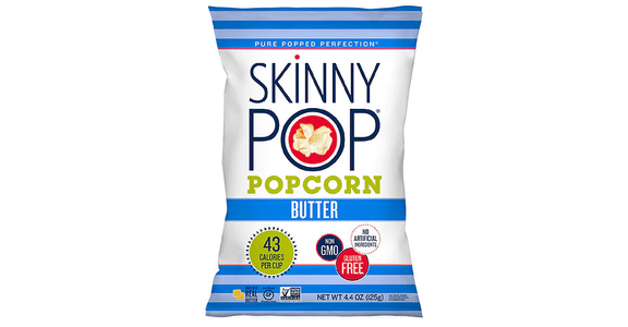 Skinny Pop Popcorn Butter (4 oz) from EatStreet Convenience - N Port Washington Rd in Glendale, WI