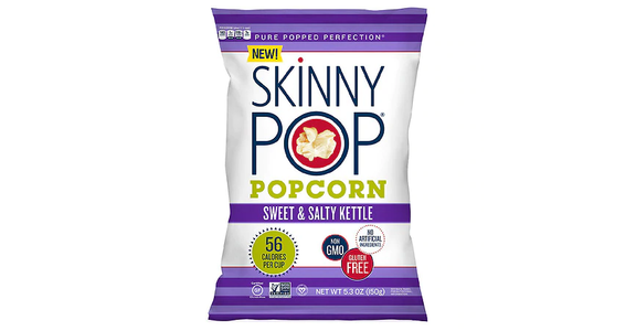 Skinny Pop Popcorn Sweet & Salty (5 oz) from EatStreet Convenience - McKee Rd in Madison, WI