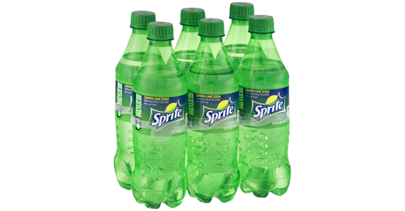Sprite Soda Lemon-Lime 6-pack (17 oz) from EatStreet Convenience - Branch St in Middleton, WI