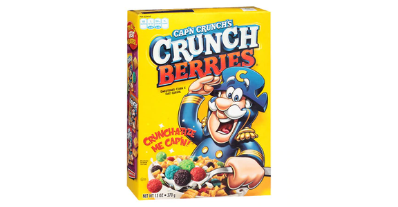Cap'n Crunch Crunch Berries Cereal (13 oz) from EatStreet Convenience - Branch St in Middleton, WI