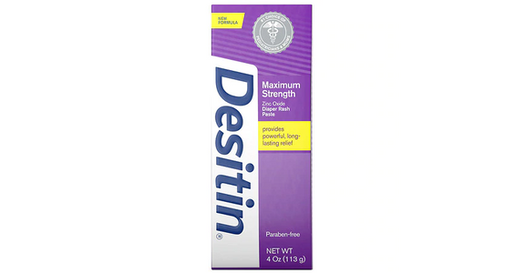Desitin Maximum Strength Baby Diaper Rash Cream With Zinc Oxide (4 oz) from EatStreet Convenience - N Port Washington Rd in Glendale, WI
