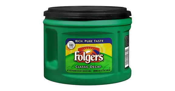 Folgers Classic Decaf Ground Coffee (23 oz) from EatStreet Convenience - N Port Washington Rd in Glendale, WI